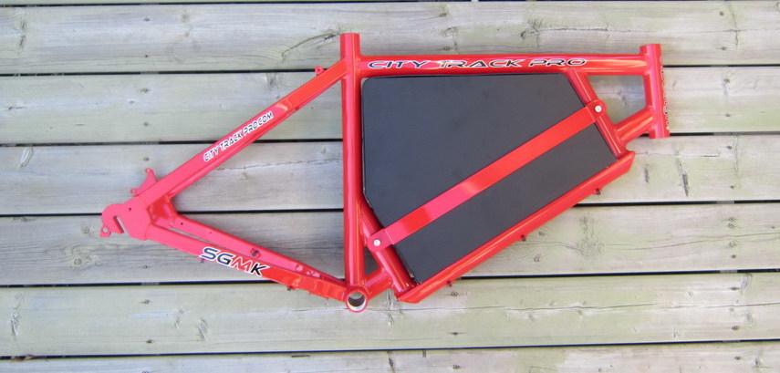 ebike frame red - Ebike Frame